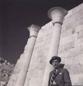Δημήτρης Παπαδήμος, 1936. Πορτραίτο του Jean Cocteau, Αίγυπτος.