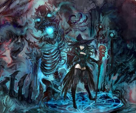 witch and demon other wallpaper id 1590675 desktop