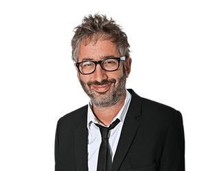 David Baddiel-the anti Israel Jewish(self confessed)atheist trundled out by 'The Guardian'to promote their anti Israel agenda under the guise of condemning 'antisemitism'..