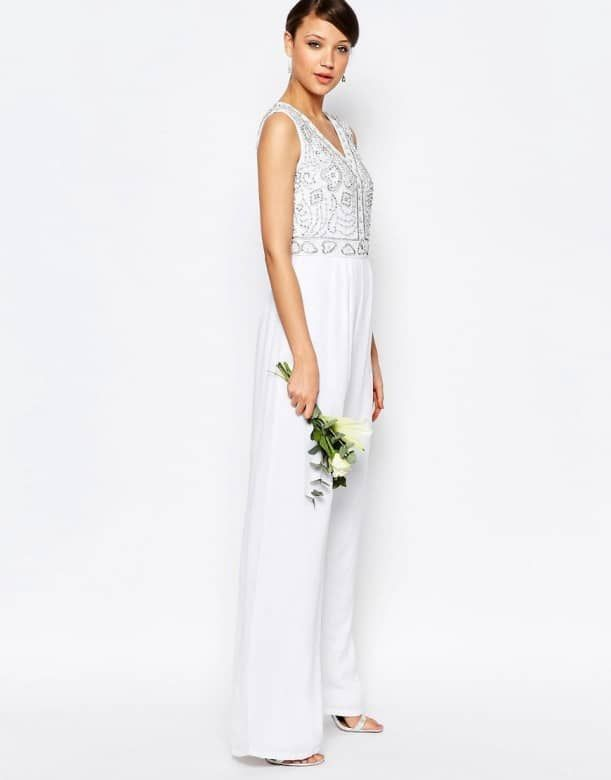 bridal jumpsuits for a rustic wedding