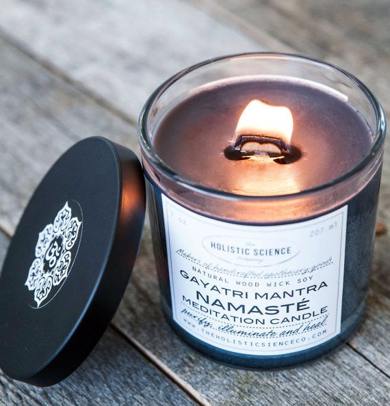 This meditation candle. | 23 Deeply Calming Items Every Anxious Person Needs