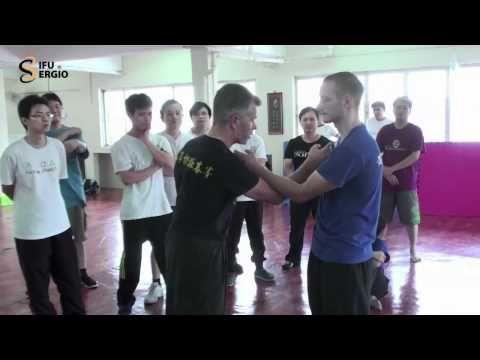 ▶ Sifu Sergio Presents Dan Chi Sao the WSL Way by David Peterson - YouTube