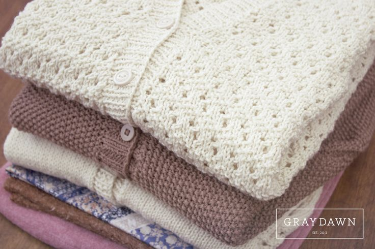 Hand knitted Jerseys available in a variety of colours and pattern styles for the chilly winter.
