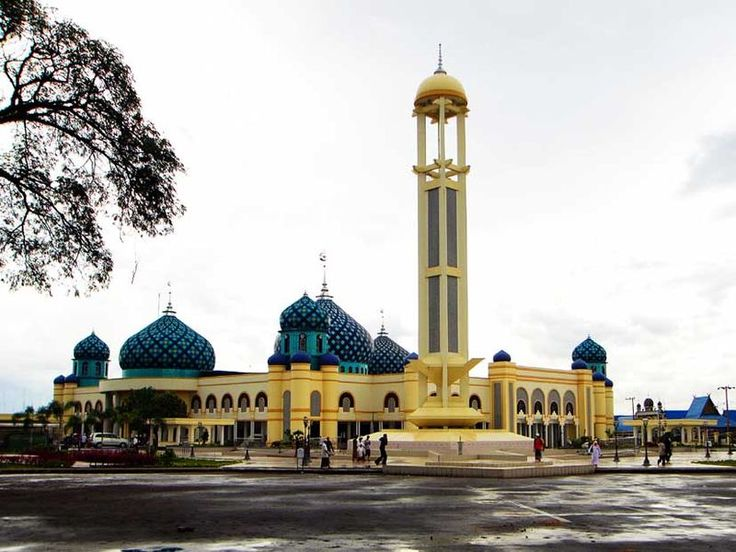 Al Karomah Grand Masjid of Martapura - Indonesia