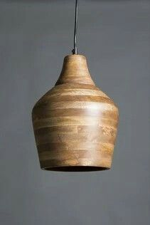 Bistro wooden pendant