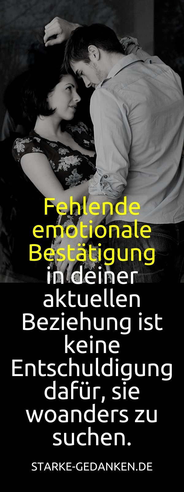 Test emotionale affäre Was ist