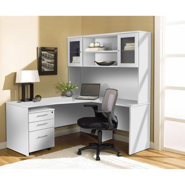 25 Cool Modular Home Office Furniture Designs: Best 25+ Corner Desk With Hutch Ideas On Pinterest