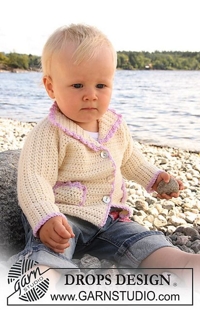46c48800a Craft Passions  jacket with pockets..  free   Crochet pattern link ...