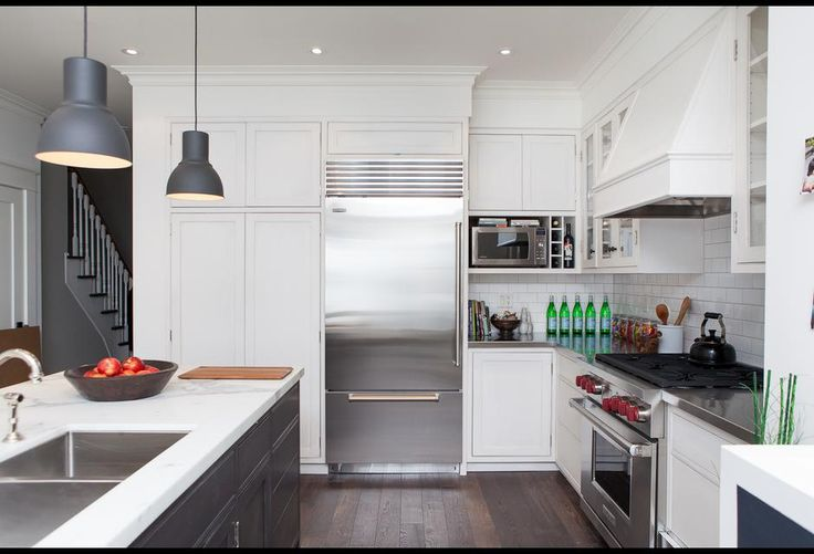 A contemporary kitchen that's perfect for a busy family, designed by Danielle Bryk, from Bryk House Season 1 Episode.