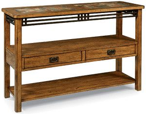 Peters Revington American Craftsman Sofa Table