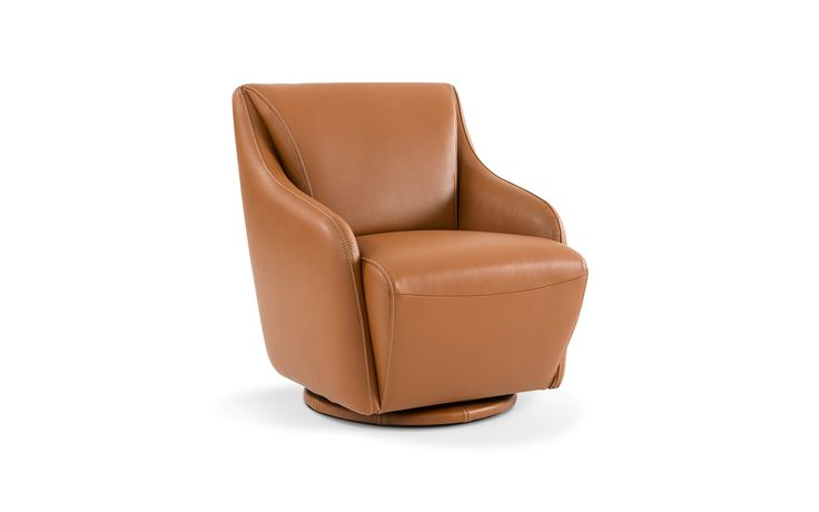 FAUTEUIL PIVOTANT CUIR ACCORD