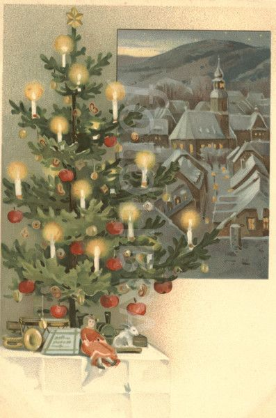 Pictures Of Vintage Christmas Trees