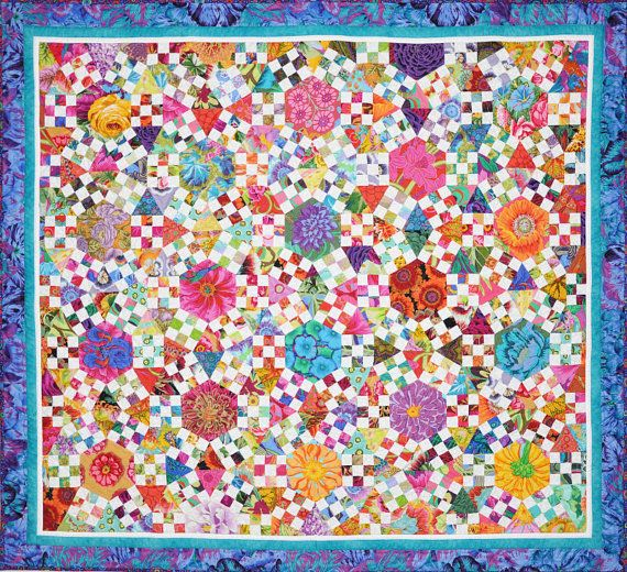 Ring Cycles Quilt HARD COPY by Lessa Siegele. by 2SewTextiles (Love this pattern!  Need to make it soon!)