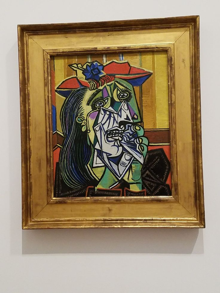 The Weeping Woman; Picasso