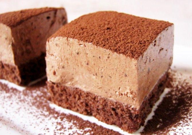 Csokoládés trüffelkocka