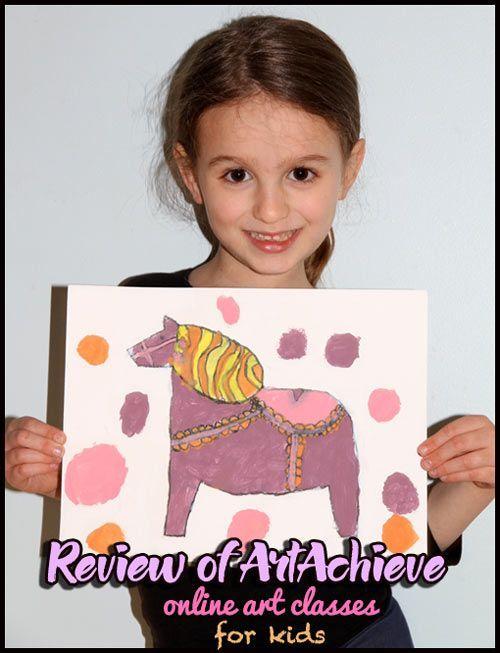ArtAchieve Review: online art classes for kids