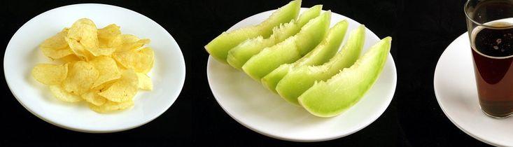 Dit zijn 200 calorieën van verschillende etenswaren!