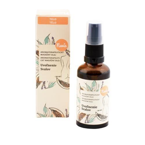 Masážní olej Uvolnění svalů Navia