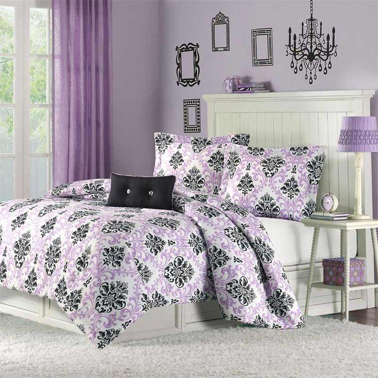 dorm room theme bedding set for cute girls