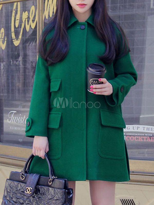 Les 25 meilleures id es de la cat gorie manteau vert sur for Quelle couleur avec le vert