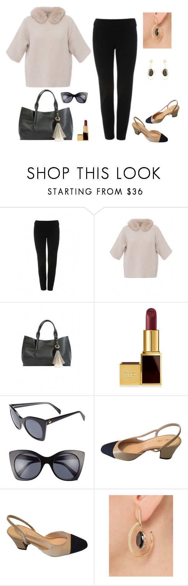 """""""Office Ready!"""" by stylebyjonathan ❤ liked on Polyvore featuring Oliveve, Tom Ford, Draper James and Sarah Magid"""