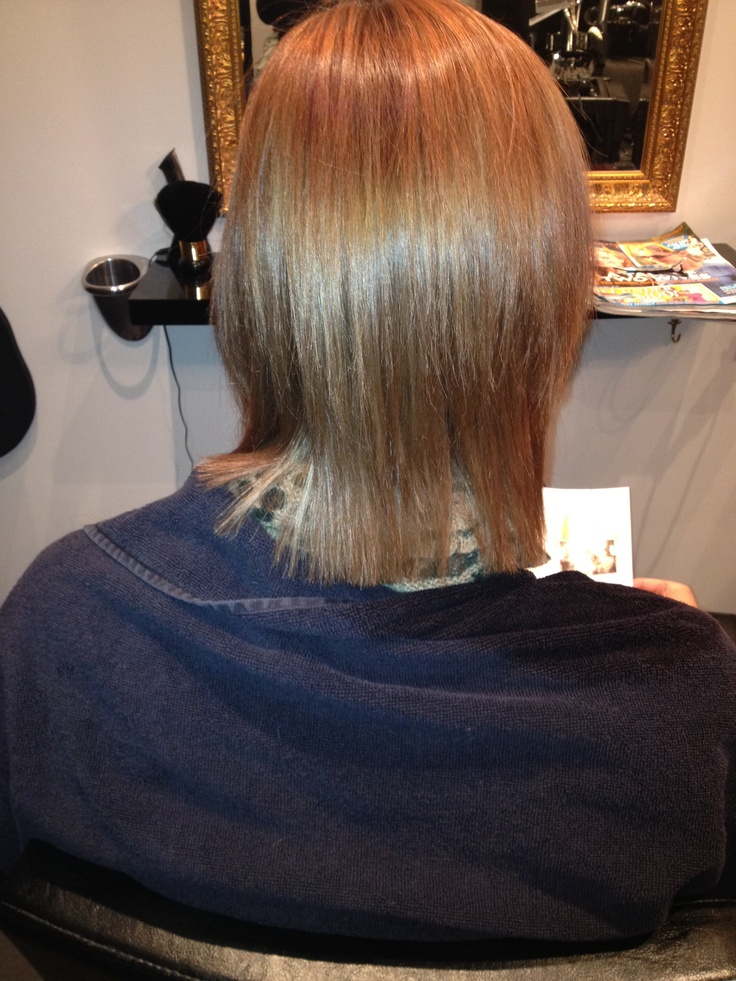 Anything is possible with organic hair extensions,this is a before shot of fine short hair
