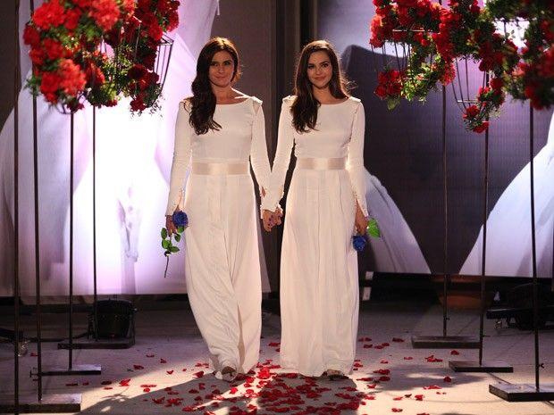 Casamento Marina e Clara (Foto: Divulgação/Galpão Cultural)