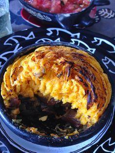Rescatando Recetas: Pastel de zapallo y cochayuyo (Calabaza y algas)