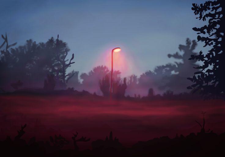 Digital painting by Karoliina Pärnänen (2016).
