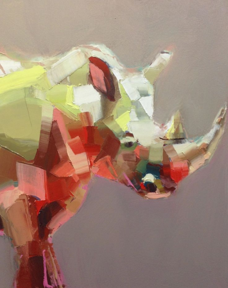 I would love any animal painting by Teil Duncan. This one of a rhino is beautiful! I also love the cows. http://teilduncan.bigcartel.com/