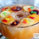 It's Mardi Gras time. Here's one delicious way to get festive during Mardi Gras season. Try our Mardi Grad Festive Punch, mixed with a King Cake Soda Ice Ring, rum and more. I'm also sharing a virgin festive punch recipe! Cheers!