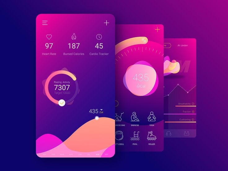 "Check out this @Behance project: ""AR Virtual Fitness Coach App 