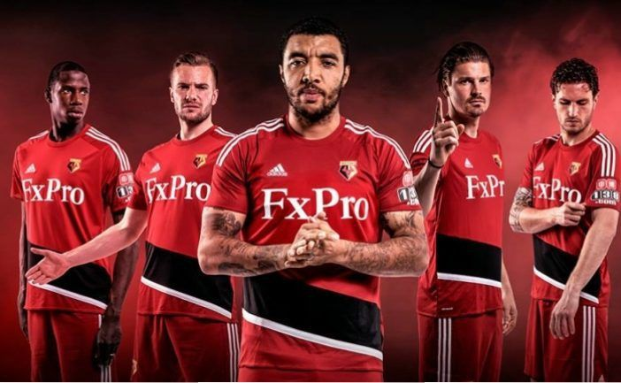 Watford FC 2017/18 adidas Away Kit