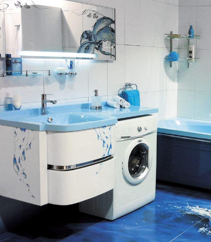 Одна из основных фишек компании - изготовление раковин под #стиральнуюмашину.