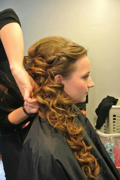 side swept hairstyle : ... Hairstyles 50S, Hairstyles Updo, Prom Hairstyles, Side Ponytail, Hair