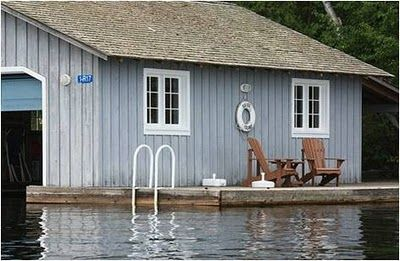 perfection in a boat house