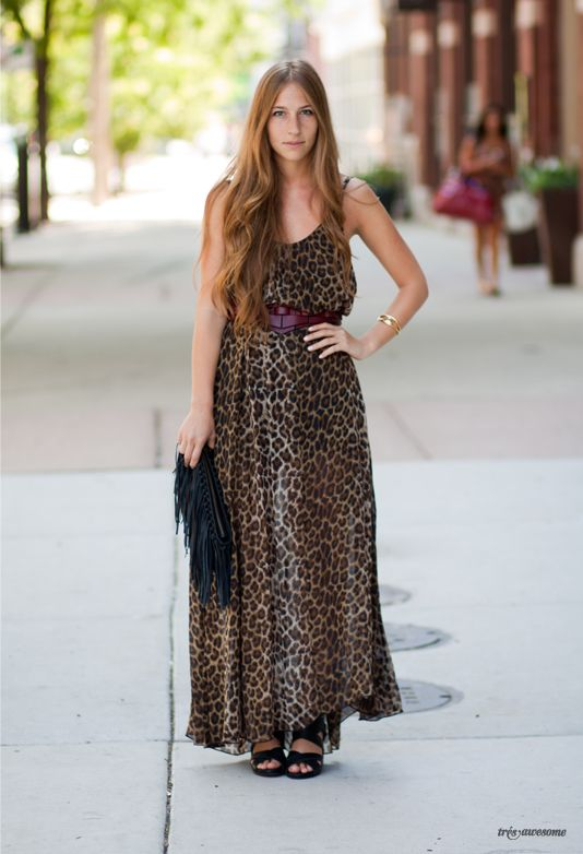 Très Awesome ♥ Chicago Street Style  Leopard and awesome-ness