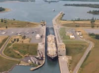 St. Lawrence Seaway Eisenhower Locks, Massena, NY