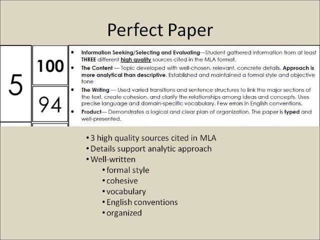 essay performance measurement