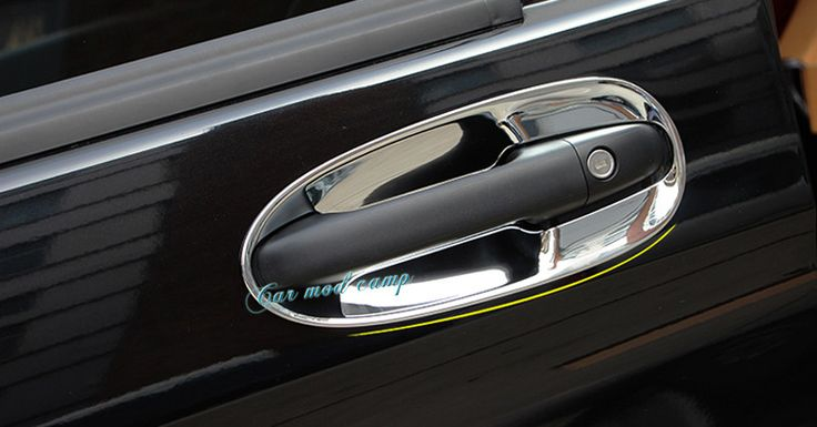 For Mercedes-Benz Vito W447 2014 - 2017 ABS Chrome Side Car Door Handle Bowl Frame Cover Trim 8pcs Car Styling! #Affiliate