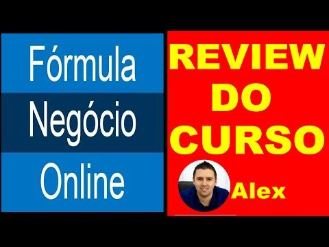 Formula Negócio Online do Alex Vargas Review - YouTube
