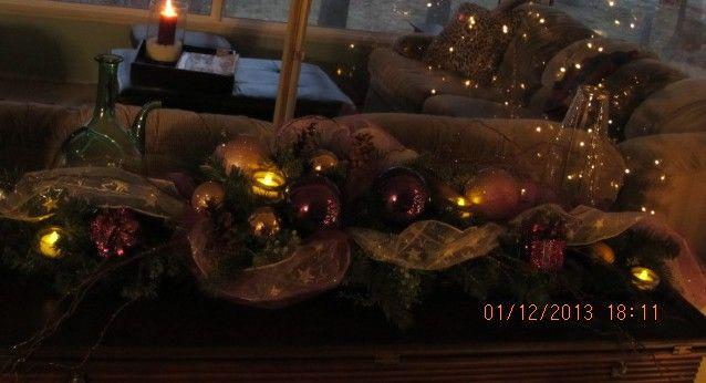 table/mantle decor