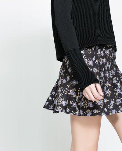 Image 4 of FLARED SKIRT from Zara