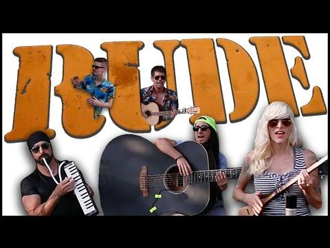 ▶ Rude - Walk off the Earth - YouTube