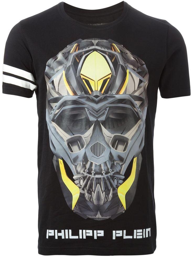 Philipp Plein 'chromo' T-shirt - Stefania Mode - Farfetch.com