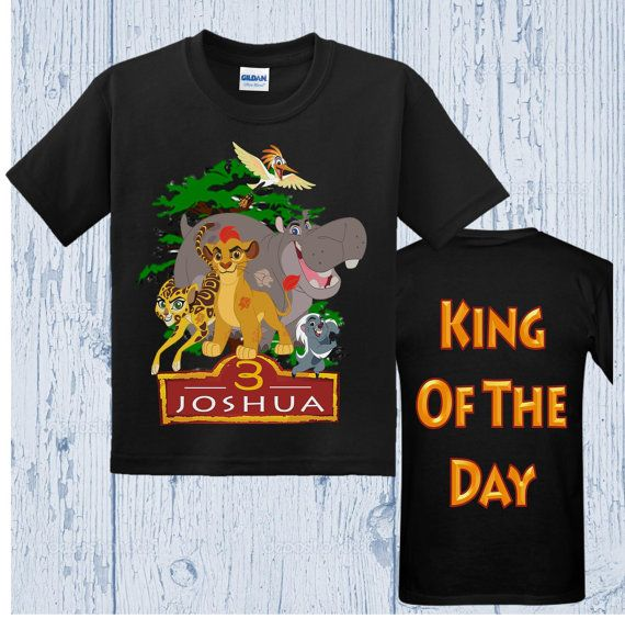León guarda camisa de cumpleaños León por FashionistaStylez