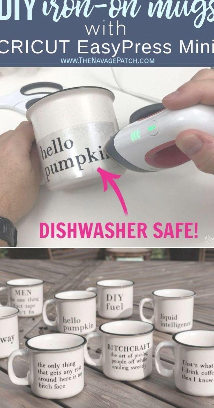 Diy iron on mugs dishwasher safe use transfer foil at