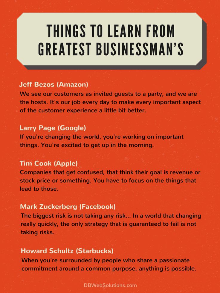 Things to Learn from Greatest Businessman's  #Learn #Businessman #Business #Amazon #Google #Apple #Facebook #Starbucks