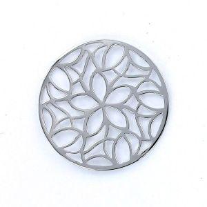Infinity disc 33 mm calado flores