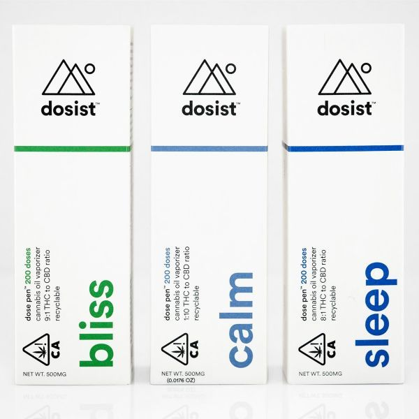 Find relief with dosist's targeted formulas and precision-dosed